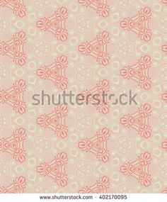 Vintage abstract background wall-paper, pink. Seamless pattern. Gentle two-color vegetable drawing. Fabric, gift paper, a background for the websites, albums, etc.