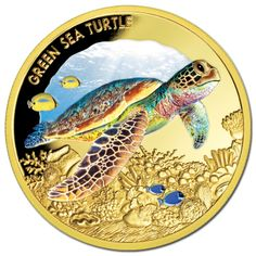 Niue 2014 $100 Green Sea Turtle 1oz #Gold Proof! A coin to be owned by just 150…