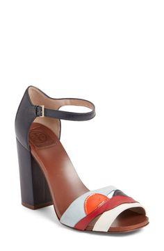 Tory Burch 'Miro' Block Heel Sandal (Women) available at #Nordstrom