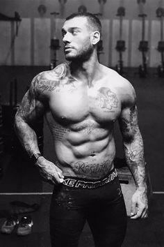 Shirtless Men Doing CrossFit, Just Because