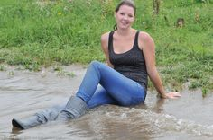 In the river