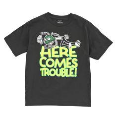 Wimpy Kid Boys Here Comes Trouble Short Sleeve T-shirt | Shopko.com