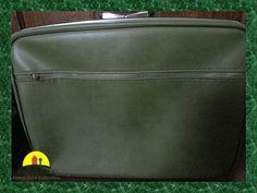 JETLINER Retro Green Footed Suitcase MAD MEN by KressHillVintage, $58.00