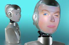 """SociBot-Mini - робот, способный """"натянуть"""" на себя лицо любого человека"""