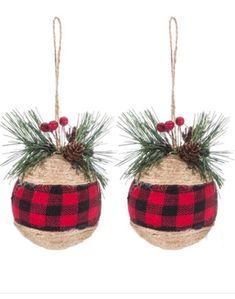 Black & White Buffalo Check Ball Ornaments With Greenery Gold Christmas Decorations, Diy Christmas Ornaments, Christmas Balls, Homemade Christmas, Holiday Crafts, Christmas Wreaths, Christmas Crafts, Christmas Parties, Buffalo Plaid Christmas Ornaments