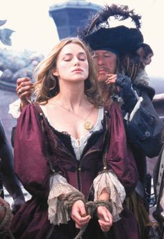Elizabeth Swann Costume - Pirates of the Caribbean, the black heart dress