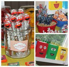 Sesame Street, Elmo Birthday Party Ideas   Photo 1 of 49   Catch My Party