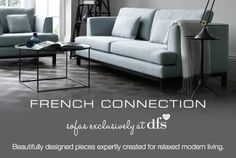 Beautifully designed pieces expertly created for relaxed modern living.
