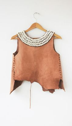 Leather Shell Camisole