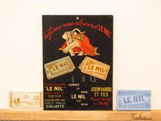 Original Vintage Le Nil Cigarette Rolling Paper by HodesH on Etsy, $45.00