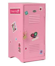 Locker for 18'' Doll by Constructive Playthings #zulily #zulilyfinds