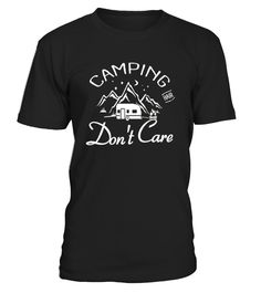 CHECK OUT OTHER AWESOME DESIGNS HERE!            Going out for some camping and wine with the family? This hilarious t-shirt is the perfect camping novelty gift for yourself or a loved one who enjoys roughing it outdoors and wont mind getting a messy bun.     This Shirt Lets People Know That You Have Camping Hair, Dont Care - Funny Camping Lovers T shirt   This is a Cute Camping tshirt Perfect gift for Camping Lovers, Christmas, Birthday, Father's Day, Valentine's Day, Mother...