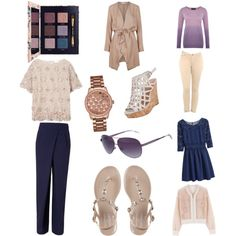 Untitled #1 by meagandahlen on Polyvore featuring polyvore, fashion, style, DAY Birger et Mikkelsen, Viyella, Judith Leiber, Jonathan Simkhai, Rejina Pyo, Charles by Charles David, GUESS and Tory Burch