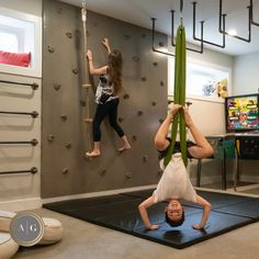 42 Ideas For Home Gym Decor Basements Climbing Wall Kids Bedroom Ideas Basements Climbing Decor gym Home Ideas Wall Indoor Climbing Wall, Kids Climbing, Home Gym Decor, Gym Room At Home, Indoor Jungle Gym, Kids Indoor Gym, Kids Indoor Playground, Indoor Swing, Home Gym Garage