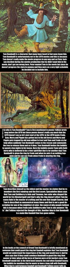 Relatively Unknown LoTR Facts  - Tom Bombadil