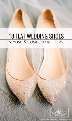 18 Flat Wedding Shoes For The Love Of Comfort And Style ❤ We presented flat wedding shoes for you to not feel tired on wedding ceremony! See more: http://www.weddingforward.com/flat-wedding-shoes/ #weddings #shoes