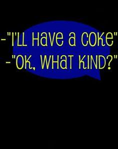 Soda Drinks are Cokes