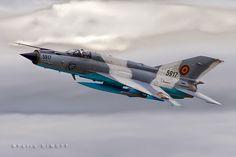 Petru DIMOFF: Romania - Air Force, Mikoyan-Gurevich MiG-21MF-75 ...