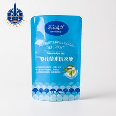 Custom standing laundry detergent and shampoo pouch packaging liquid soap bag spouted pouches