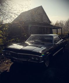 '67 Chevy Impala, I will have you one day baby. <3 I loved this car before I started watching Supernatural that just made it better.