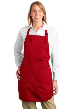 True to Size Apparel - Full Length Apron - Stain resistant, $9.98 (http://truetosizeapparel.com/full-length-apron-stain-resistant/)
