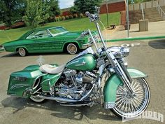 The Harley or the Impala