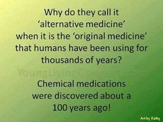 Alternatives medicine