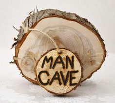MAN CAVE Rustic Wood Sign for Men's Work by SapphireMountainLoft, $14.99 Perfect Gift For Him, Gifts For Him, Gentlemans Club, Rustic Wood Signs, Wood Slices, Rustic Elegance, Old Wood, How To Distress Wood, Autumn Trees