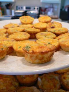 Crustless Ham & Egg Mini Quiche
