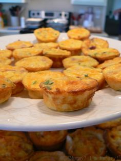 Ham and Egg Quiche Biscuit Cups