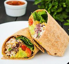 Tasty Daycare Breakfast Burrito - http://daycareinventory.com/tasty-daycare-breakfast-burrito/