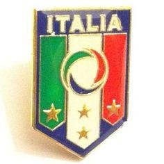 Italy Metal Pin Badge Brooches for EURO 2012 Football Championship
