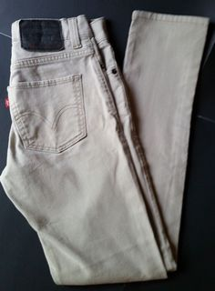 207733c350 Details about Men's Levi's 510 Skinny Fit Jeans Stretch Pant/Trouser/Bottom  Genuine Jeans