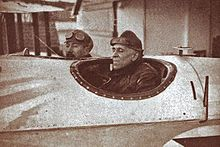 Carlos Viegas Gago Coutinho (1869–1959) and Sacadura Cabral (1881–1924), were the first to cross the South Atlantic Ocean by air, from March to June 1922, from Lisbon to Rio de Janeiro. Gago Coutinho invented a type of sextant incorporating two spirit levels to provide an artificial horizon. This adaptation of the traditional marine sextant allowed navigation without visual reference to the real horizon.