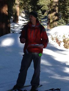 Cross County skiing in Tahoe Jan 2013