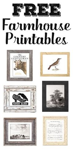 Who doesn't love free printables? Grab free farmhouse printables including farmhouse artwork, vintage ads, magazine covers, and even awesome old signs Vintage Farmhouse, Farmhouse Decor, Farmhouse Style, Country Decor, Coastal Farmhouse, Country Homes, Rustic Decor, Vintage Quotes, Vintage Ads
