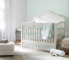 Baby Girl Crib Bedding  Nursery Crib Bedding   Pottery Barn Kids