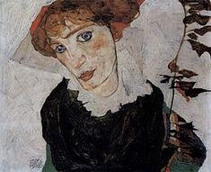 Portrait of Wally German: Porträt von Wally Egon Schiele 069.jpg Artist Egon Schiele Year 1912 Type Oil on panel Dimensions 32 cm × 39.8 cm (13 in × 15.7 in) Location Leopold Museum