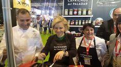 Adela  M Cachá recomienda alcachofas de Caprichos en Salon de Gourmets