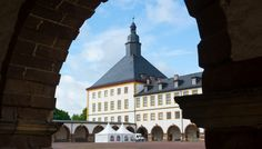 Schloss Friedenstein in Gotha East Germany, Medieval, Mansions, House Styles, Europe, Germany, Gotha, Castles, Baroque