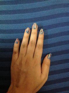 brush nail art, #color#nail#art#easy #simple