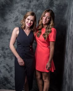 Elizabeth Henstridge and Chloe Bennet of Marvel's Agent Of S.H.E.L.D pose for a portrait during CTV 2014 Upfront at Sony Centre for the Performing Arts on June 5, 2014 in Toronto, Canada