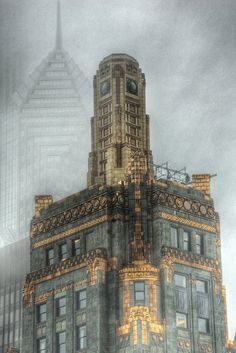 Chicago This is my favorite building in the city... The Carbide and Carbon Building -C