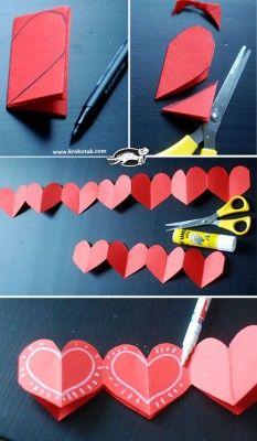 Manualidades sencillas San Valentín (3)