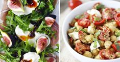 10 recetas de ensaladas poco comunes que te van a saber deliciosas Healthy Diet Recipes, Low Calorie Recipes, Healthy Eating, Cooking Recipes, Blueberry Banana Bread, Yams, Potato Salad, Food And Drink, Nutrition