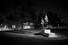 From the Google+ San Jose Photowalk last week… little-known fact that San Jose State University has a statue commemorating a pivotal moment in the 1968 Olympics ;)