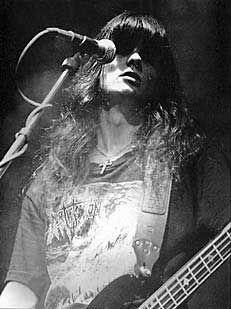 Mortification's leader vocals, Steve Rowe, 1993 . God heals him from blood cancer.