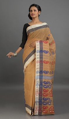 Bengal Tant Cotton Saree | Bengal Cotton Sarees Online