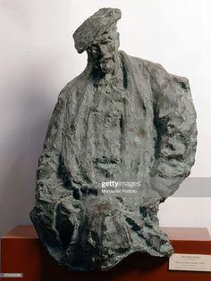 """""""Portrait of Henri Rouart , by Medardo Rosso,"""