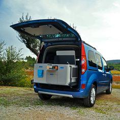 Renault Kangoo Camper TravelPack by Ovicuo. Really cool car. Read more at jebiga.com